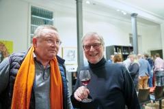 Weinkenner unter sich. Foto: Volker Lannert