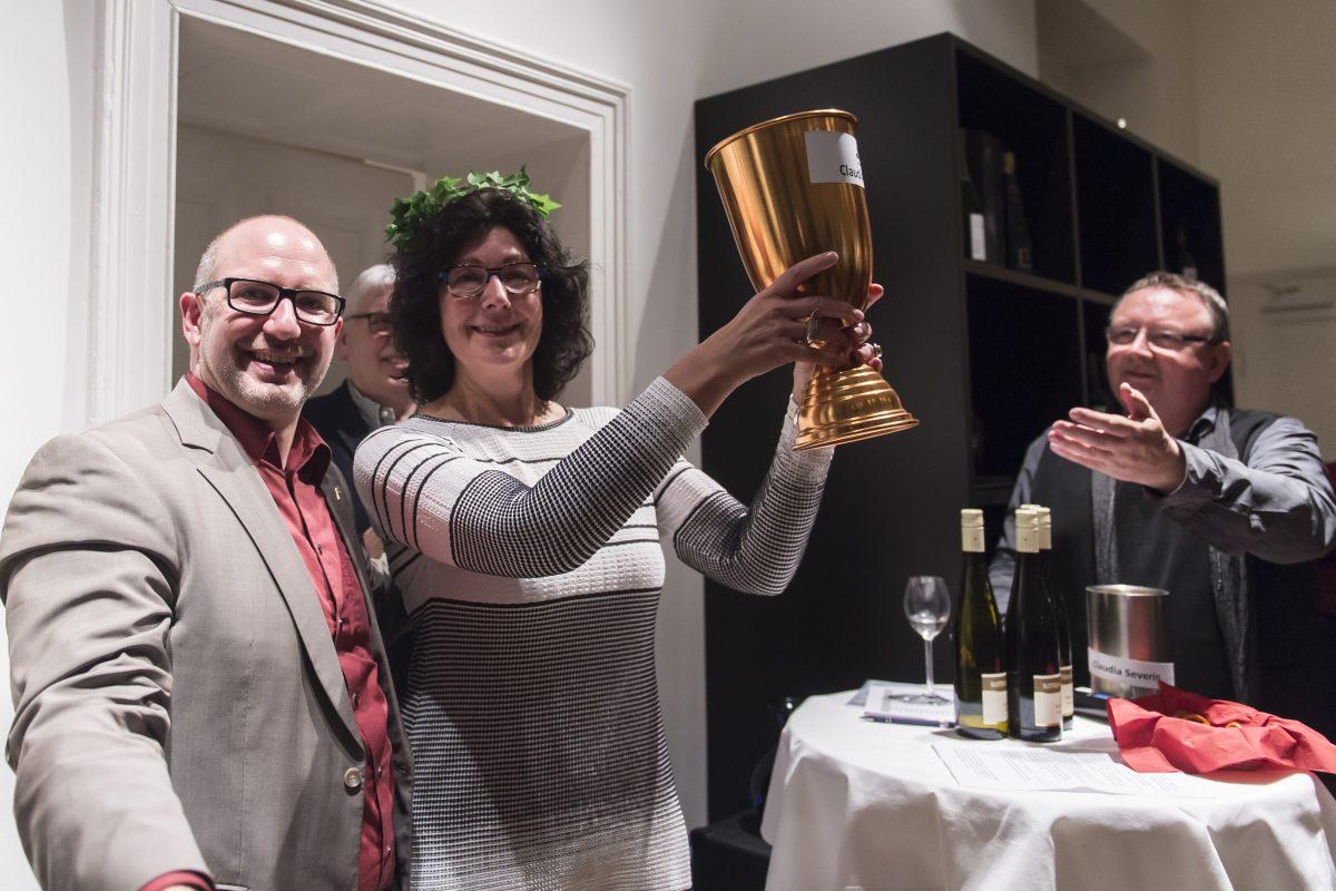 Die Damen begeistern beim 3. Bonner Wein-Slam