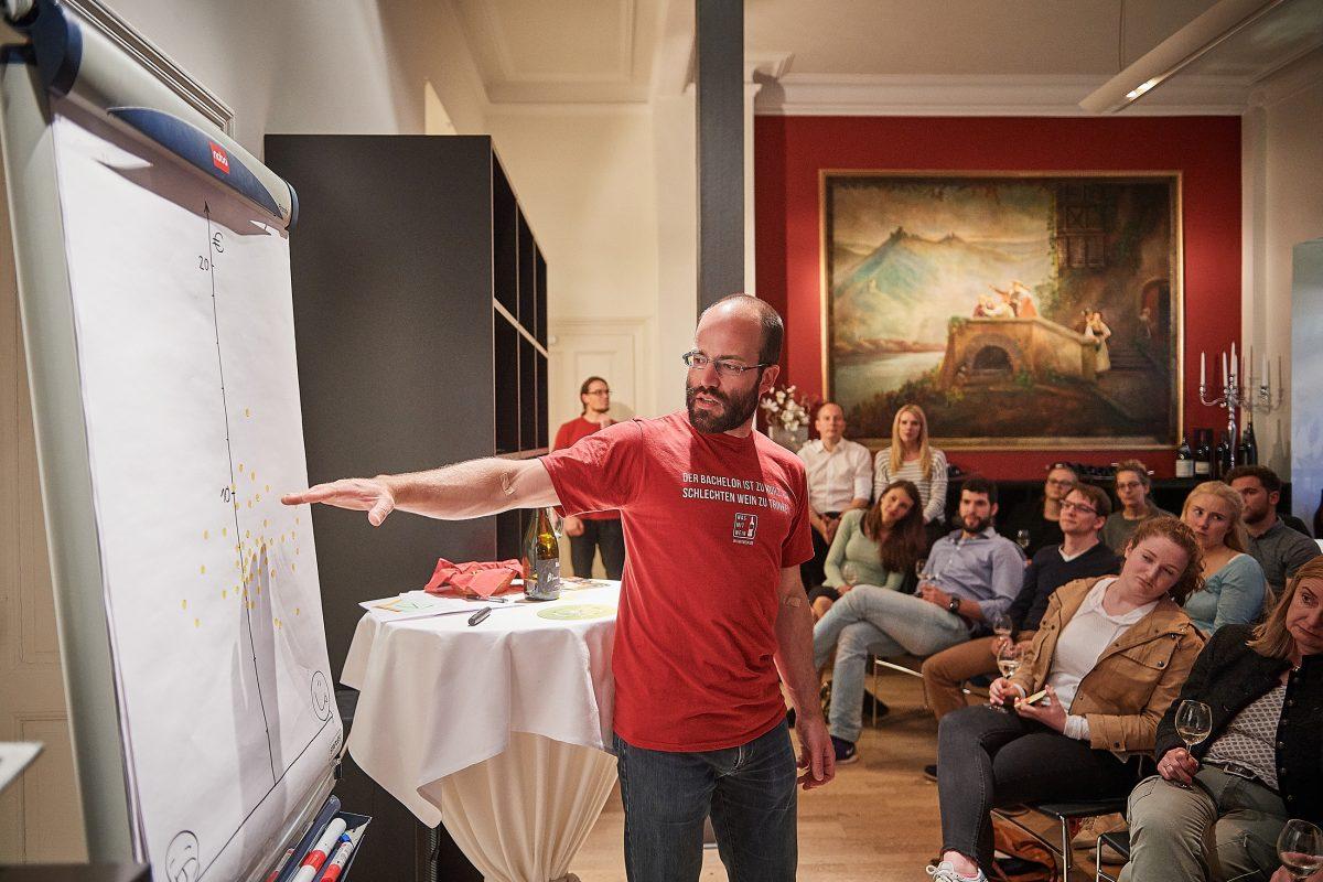 Weinseminar für Einsteiger: Der Bachelor ist zu kurz, um schlechten Wein zu trinken