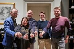 (v.l.) Peter Griebeler, Sarah Janson, Andreas Archut, Philipp Petri und Jens Bettenheimer. Foto: Volker Lannert