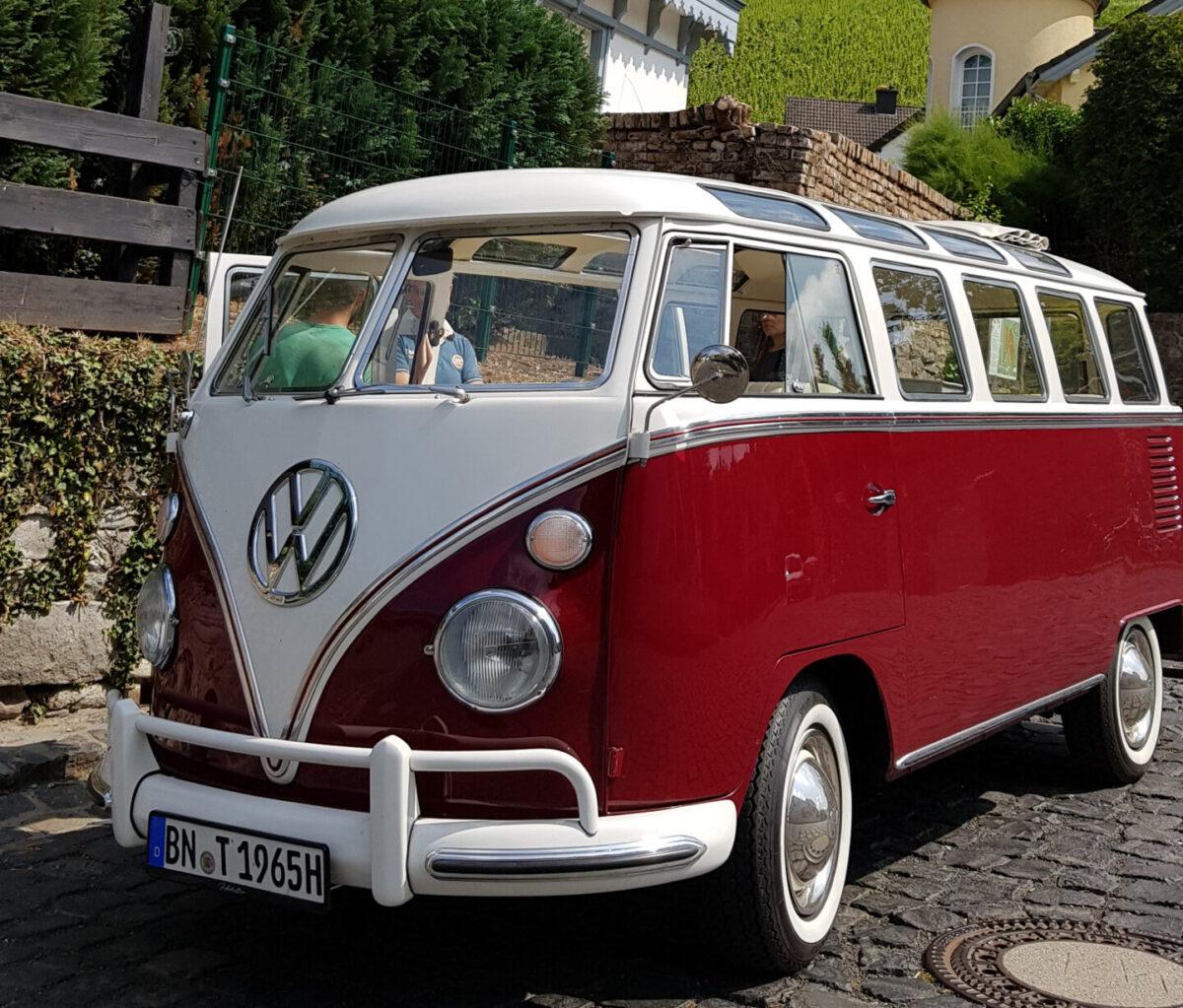 Wein-Touren mit dem VW-Bulli